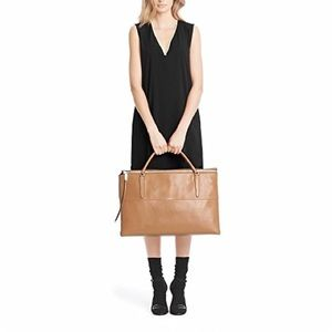 Lk NEW Coach large x-leather Borough bag weekender